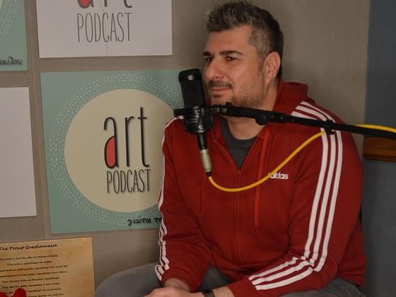 Ο Νίκος Μωραΐτης στο Art Podcast